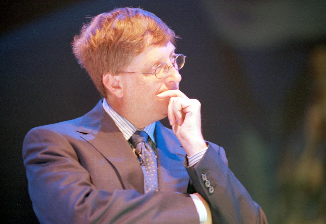 Geneva: Bill Gates, Co-founder of Microsoft