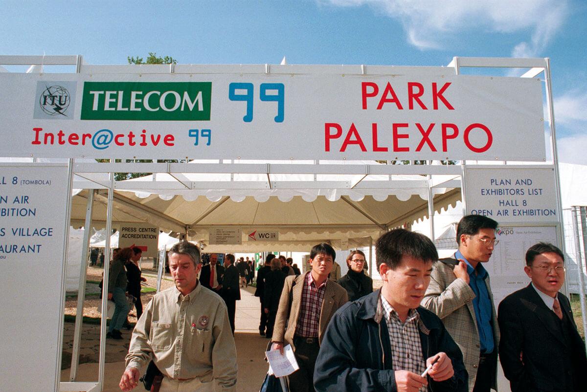 Geneva: Telecom 99 attracted more than 175 000 participants and over 1100 exhibitors