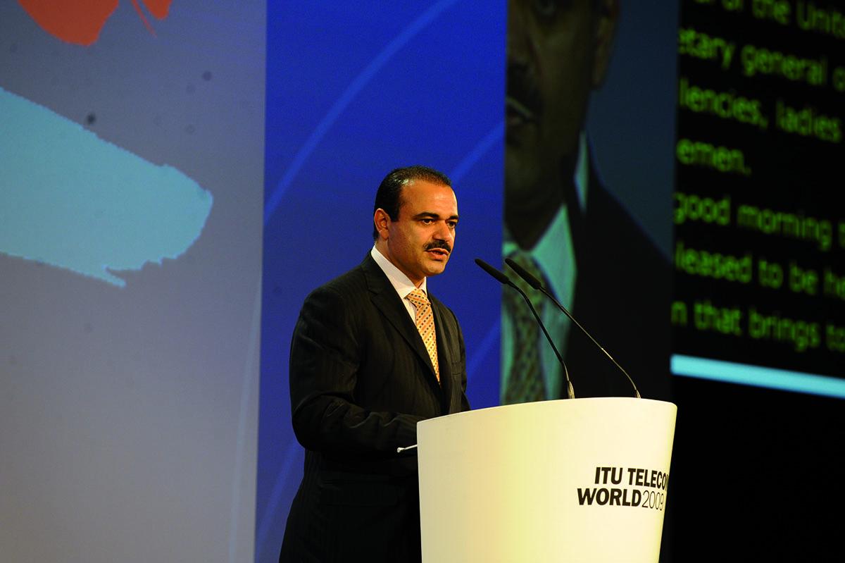 Geneva: Saud bin Majed Al Daweesh, Chief Executive Officer of the STC Group
