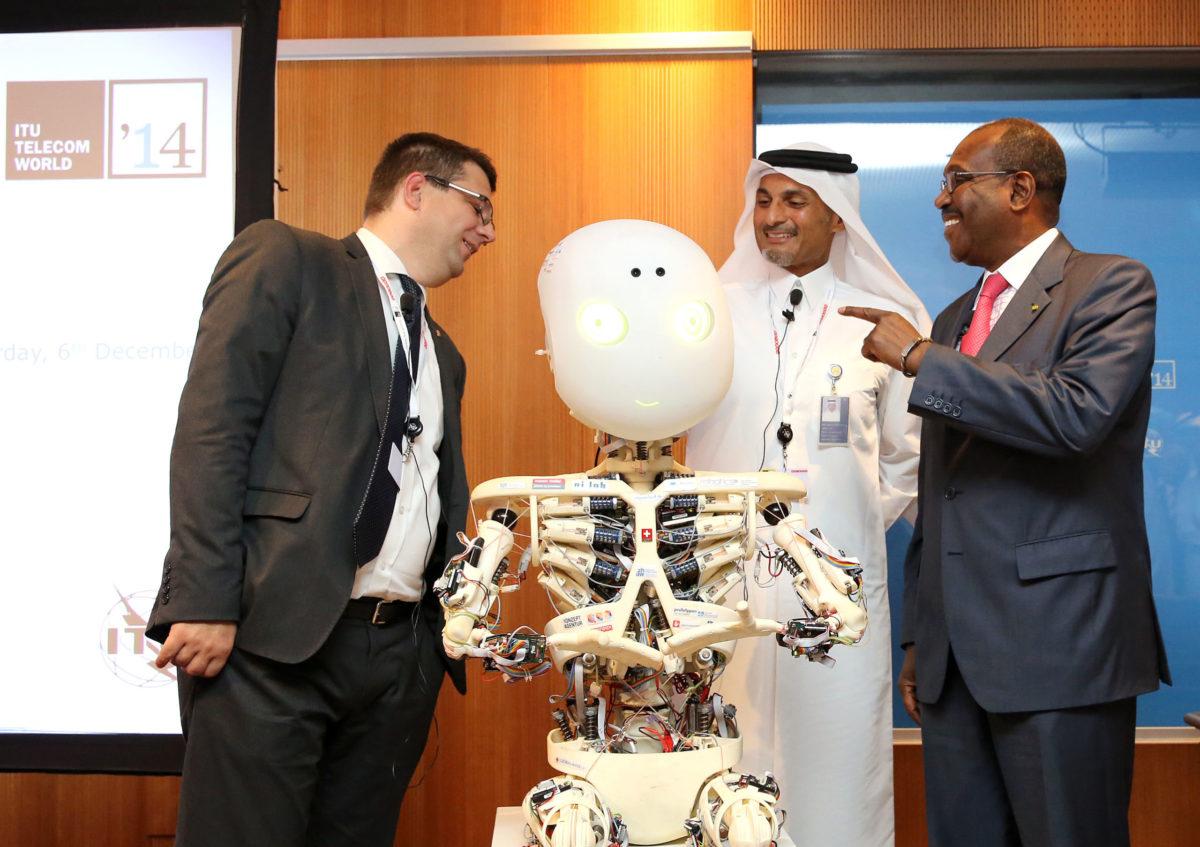 Doha: Press Conference @ ITU Telecom World 2014