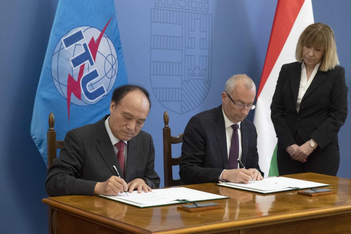 Budapest: Signing Ceremony @ ITU Telecom World 2019