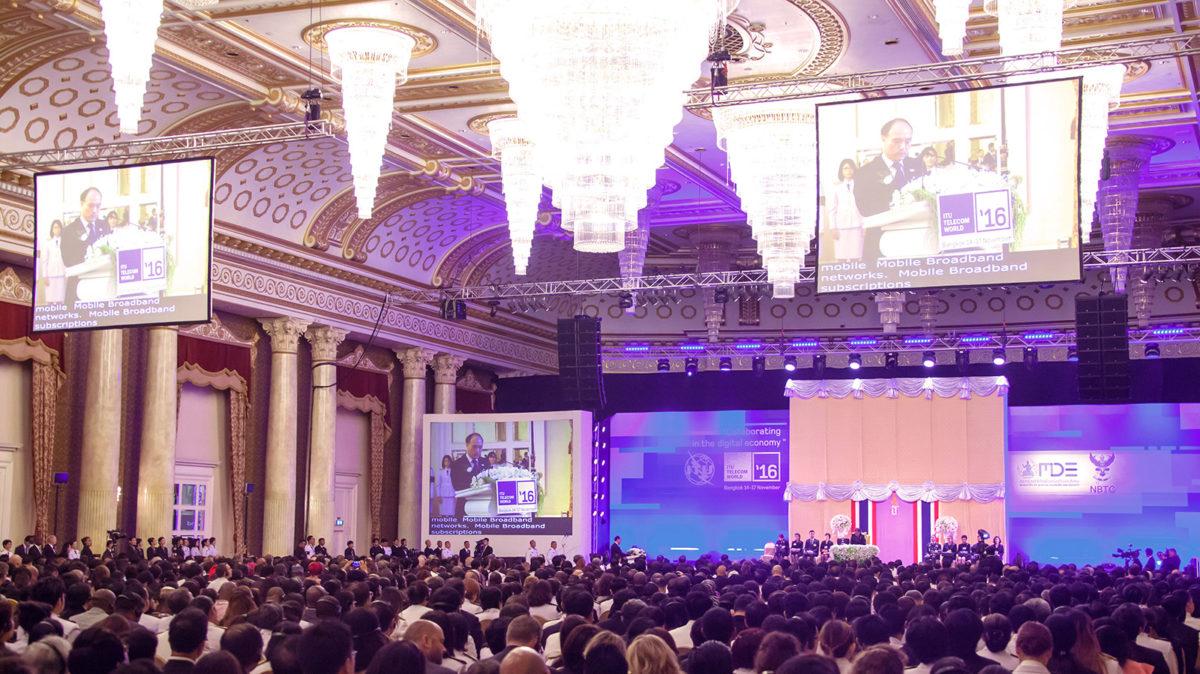 Bangkok: Opening Ceremony @ ITU Telecom World 2016