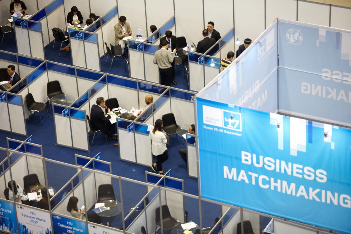 Busan: Business Matchmaking Space @ ITU Telecom World 2017