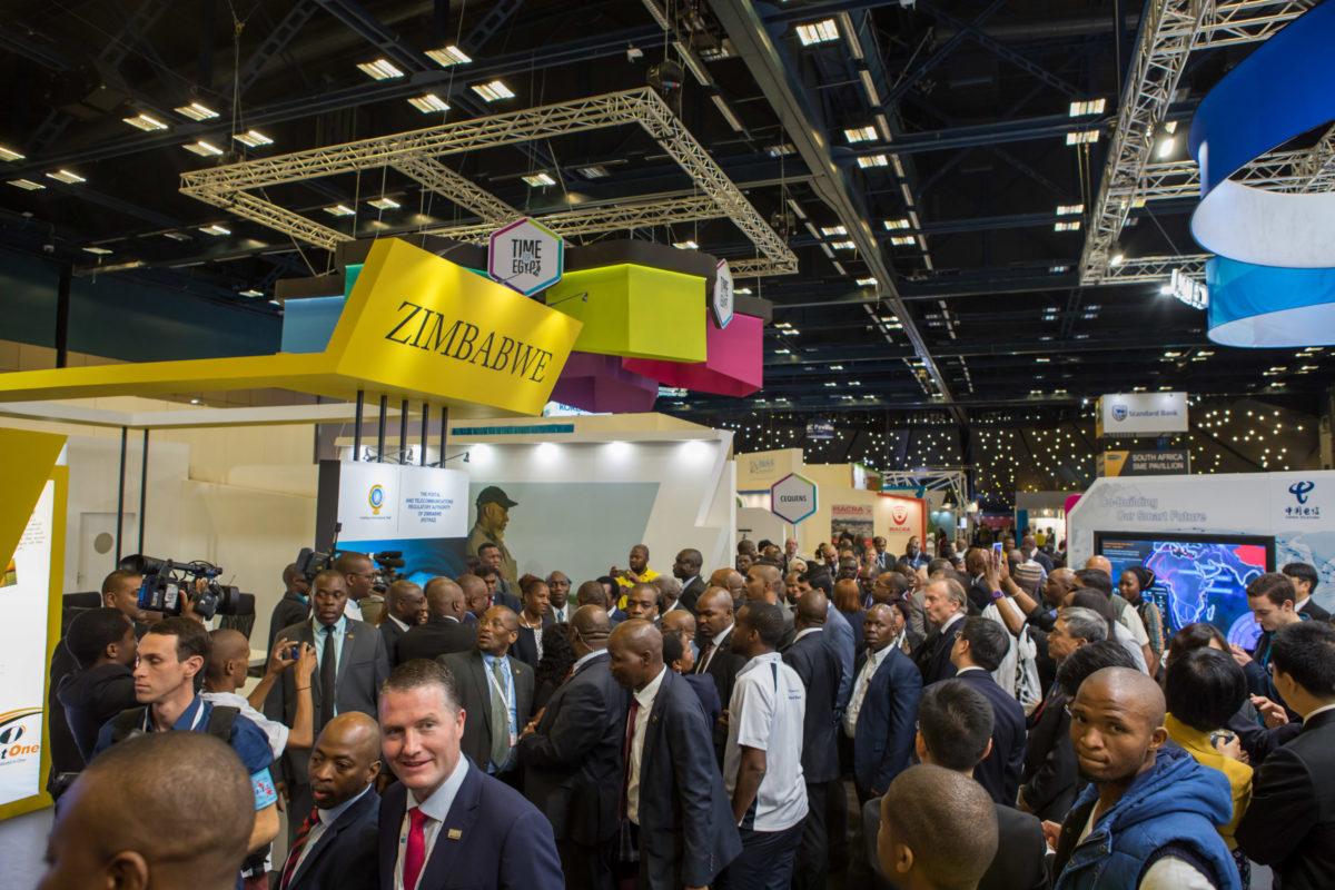 Durban: Exhibition Showfloor @ ITU Telecom World 2018