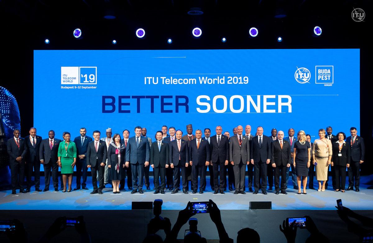 Budapest: Opening Ceremony @ ITU Telecom World 2019