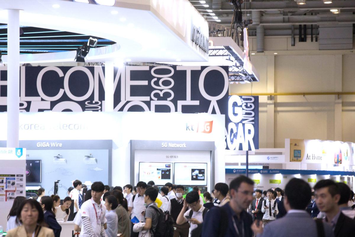 Busan: Exhibition @ ITU Telecom World 2017