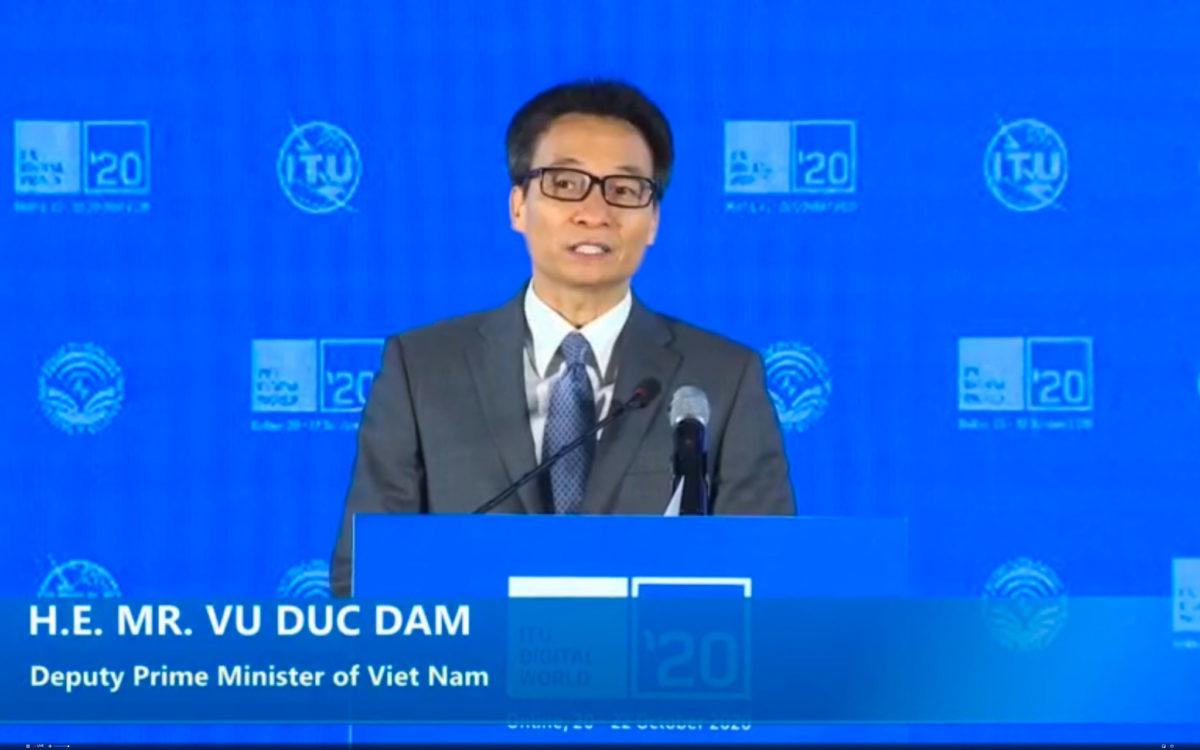 Ha Noi: H.E. Mr. VU DUC DAM, Deputy Prime Minister, Viet Nam ITU Virtual Digital World 2020