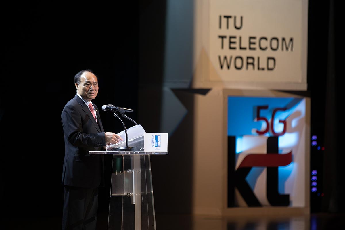 Busan: Houlin Zhao, Secretary-General, International Telecommunication Union, Switzerland
