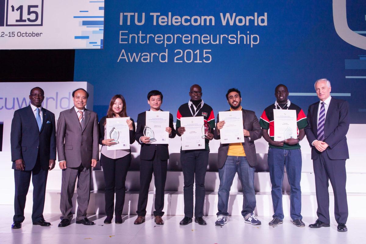 Award Ceremony @ ITU Telecom World 2015