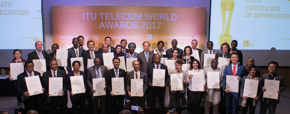 Busan: Awards Ceremony @ ITU Telecom World 2017