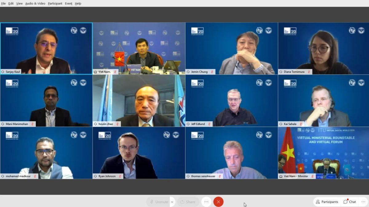 ITU Virtual Digital World 2020: Forum session: Entering the 5G era: demand, deployment, and disquiet