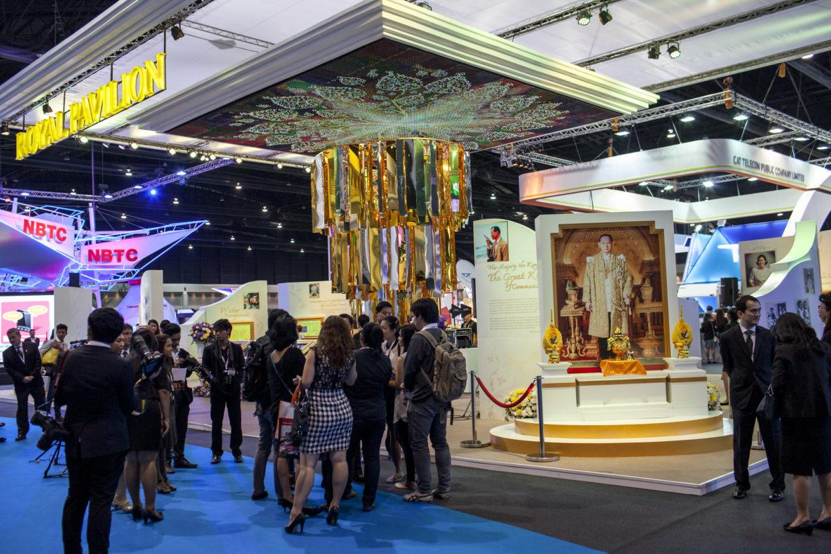 Bangkok: Royal Pavilion on the Show floor