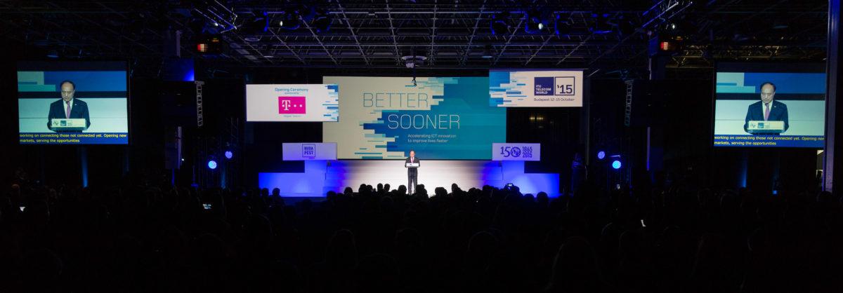 Budapest: Opening Ceremony @ ITU Telecom World 2015