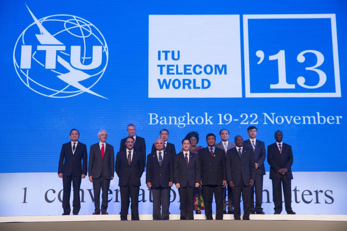Bangkok: Opening Ceremony for ITU Telecom World 2013, held at the Jubilee Ballroom, IMPACT Arena, Bangkok, Thailand